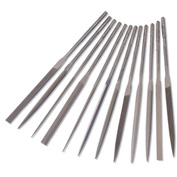 "Grobet 5 Piece Diamond Needle File Set 5.5"" 120/140 Grit"