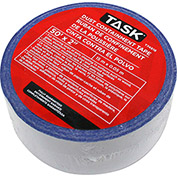 "Task® T74518 2"" x 50' Roll Double-Sided Dust Containment Tape"