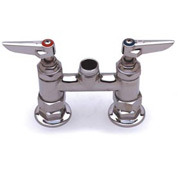 "T&S Brass B-0225-LN 4"" Mixing Faucet Swivel Base"