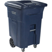 Toter 2-Wheel Secure Document/E-Waste Cart w/Casters, 96 Gallon Graystone - CDC96-00GST