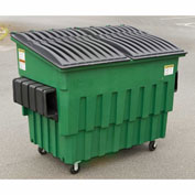 Toter 3 Yard Front Loading Dumpster, Midnight Gray   - FL030-10033