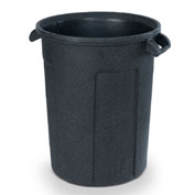 Toter Atlas Waste Container, 55 Gallon, Dark Gray Granite - RBR55-00DGG