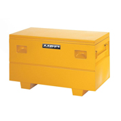"Heavy-Duty Small 32"" Job Site Box, Steel, Yellow 08036Y"