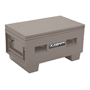 "Lund 08048G Heavy-Duty Medium 48"" Gray Steel Job Site Box"