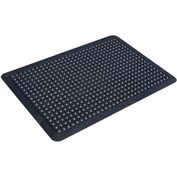"Transforming Technologies ComfortDome ESD 1"" Thick Anti-Fatigue Mat 3' x 4', Black - FM53X4"