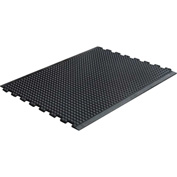 "Transforming Technologies ComfortDome ESD 1"" Thick Anti-Fatigue Mat 3' x 4' Mod Cntr Pc, Bk-FM53X4IC"