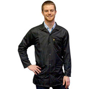 Transforming Technologies ESD 3/4 Length Jacket, Snap Cuff, Black, X-Small
