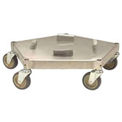 Transforming Technologies Conductive Dolly for use with WBAS180, Stainless Steel - WBASDM