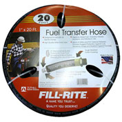 "Fill-Rite FRH10020, 1"" x 20' Retail Hose Designed for Use with All Electric Pumps"