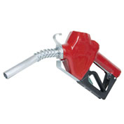 "Fill-Rite N075UAU10,3/4"" Auto Nozzle w/Hook,Unleaded Gasoline,Red, 2.5-14.5 GPM,End of Delivery Hose"