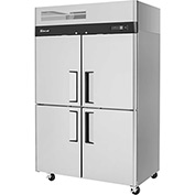 Turbo Air M3R47-4 - M3 Series, Half Solid Door Refrigerator, 4 Door