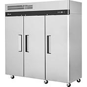 Turbo Air M3R72-3-N Solid Door Refrigerator 72 Cu. Ft. Steel