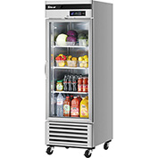 Turbo Air MSR-23G-1 Glass Door Refrigerator 23 Cu. Ft. Steel