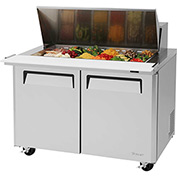 "Turbo Air MST-48-18 M3 Series - Mega Top Sandwich/Salad Table 48-2/9""W - 2 Door"