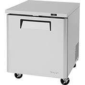 "Turbo Air MUR-28 - Undercounter Refrigerator, M3 Series, 7 Cu. Ft., S/S, 27-1/2""W x 30""D x 31-5/8""H"