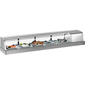 6' Refrigerated Sushi Display Case