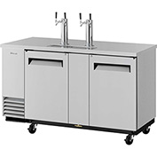 3 Keg Capacity Beer Dispenser - Stainless Steel