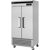"Super Deluxe Series - Solid Door Freezer 39-1/2""W - 2 Door"