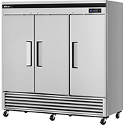 "Super Deluxe Series - Solid Door Freezer 81-6/7""W - 3 Door"