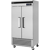 "Turbo Air TSR-35SD - Super Deluxe Series, Reach-In Solid Door Refrigerator 39-1/2""W - 2 Door"