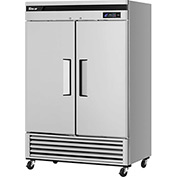 Turbo Air TSR-49SD-N6 Solid Door Refrigerator 49 Cu. Ft. Steel