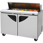 "Turbo Air TST-48SD Super Deluxe Series - Sandwich/Salad Table 48-1/4""W - 2 Door"