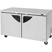 "Super Deluxe Series - Undercounter Freezer 60-1/4""W - 2 Door"