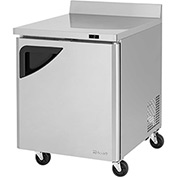 "Turbo Air TWF-28SD Super Deluxe Series - Worktop Freezer 27-1/2""W - 1 Door"