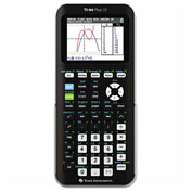 Texas Instruments TI-84Plus CE Graphing Calculator, Silver Edition, Programmable Color