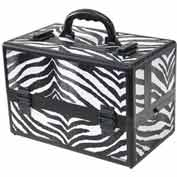 "TZ Case, Mini-Pro Carrying Case, 14-1/4""L x 8-1/2""W x 9-1/4""H, Zebra"