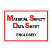 """MSDS Enclosed - Full Face 6-1/2"""" x 5"""" - 1000 Pack"""