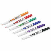 Quartet® Non-Toxic Low Odor Dry Erase Marker, Fine, Assorted Ink, 6/Set