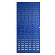 "Bott 14025148.11 Steel Toolboard, Vertical Louvered Panel, 18""W X 39""H"