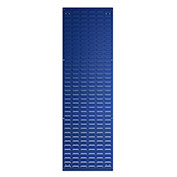 "Bott 14025149.11 Steel Toolboard, Vertical Louvered Panel, 18""W X 59""H"