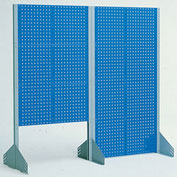 "Bott - Freestanding Toolboard, Double-Sided Perfo Panel, 20""W, 6 Panel, Starter"