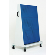 "39x18x63"" Trolley - 3 Perfo Panels each side"