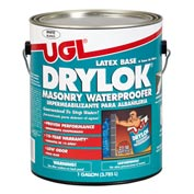 DRYLOK Waterproofer Latex Base Gallon Can, White 2 Cans/Case - 27513