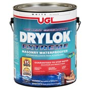 DRYLOK EXTREME Masonry Waterproofer Gallon Can, White 2 Cans/Case - 28613