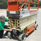 "Ultra-Scissorlift Diaper For JLG Models 16"" X 120"""