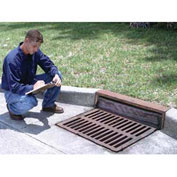 "Ultra-Drain Guard ®  Curb-Insert Style  Oil & Sediment Plus Model For Curb Inlets 24"" - 42"""