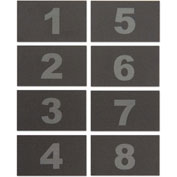 United Visual Numbers for ABS/Wood Cellphone Lockers TAB18 - Numbers 1-8