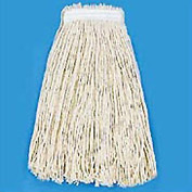 #20 Value Standard Cut-End Wet Mop Head, White 12/Pack - BWK2020CEA