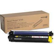 Xerox® 108R00973 Imaging Unit, 50,000 Page-Yield, Yellow, OEM