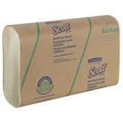 Scott® Multi-Fold Paper Towels, 9-2/5 x 9-1/5, Soft Wheat, 250 Sheets, 16/Carton - 11829
