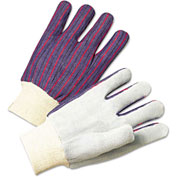 2000 Series Leather Palm Gloves, Men's, Anchor 2010, 12 Pairs