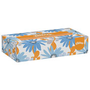 Kleenex® White Facial Tissue, 2-Ply, Pop-Up Box, 100/Box - 21400