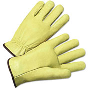 4000 Series Pigskin Leather Drivers Gloves, Anchor 4900XL, 12 Pairs