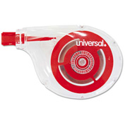 """Universal® Correction Tape, Sidewinder, Non-Refillable, 1/4"""" x 394"""", 10/Pack"""