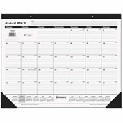 AT-A-GLANCE® Classic Desk Pad, 22 x 17, 2017