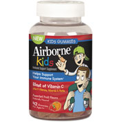 Airborne® Kids Gummies, Assorted Fruit Flavors, 42 Count
